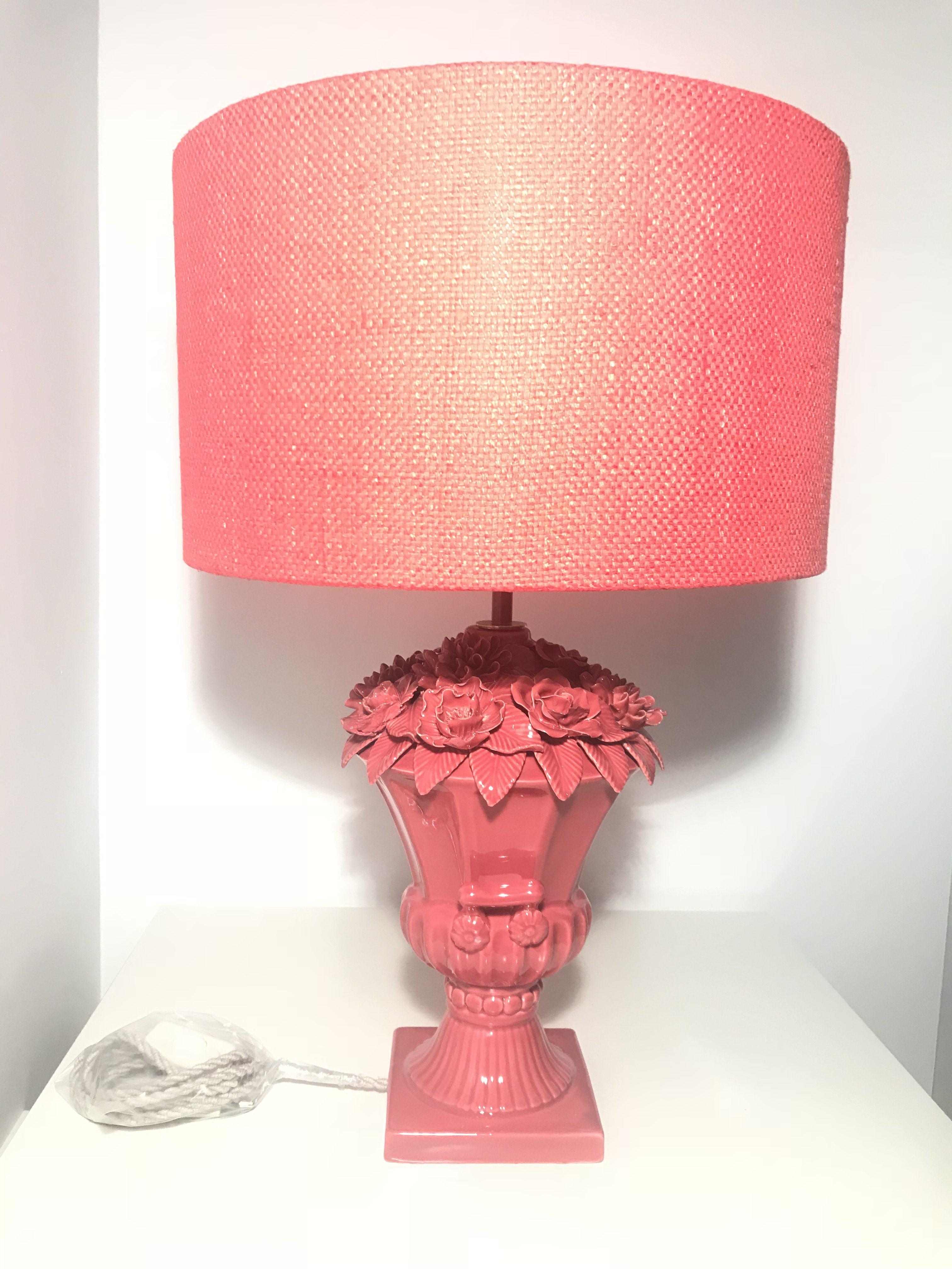Lámpara de Manises de los 60.